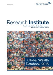 Global Wealth Databook 2016_Credit Suisse Research