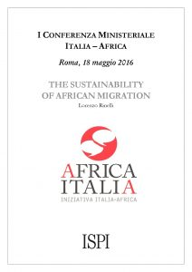 The Sustainability of Africa Migration - Africa Italia_Lorenzo Rinelli, ISPI