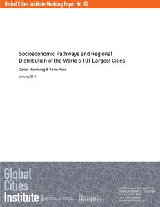 Socioeconomics Pathways and Regional Distribution of the World's 101 Largest Cities_Global Cities Institute