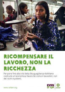 Ricompensare il Lavoro Non la Ricchezza - Davos 2018_Oxfam